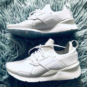 Puma White Sneakers 👟